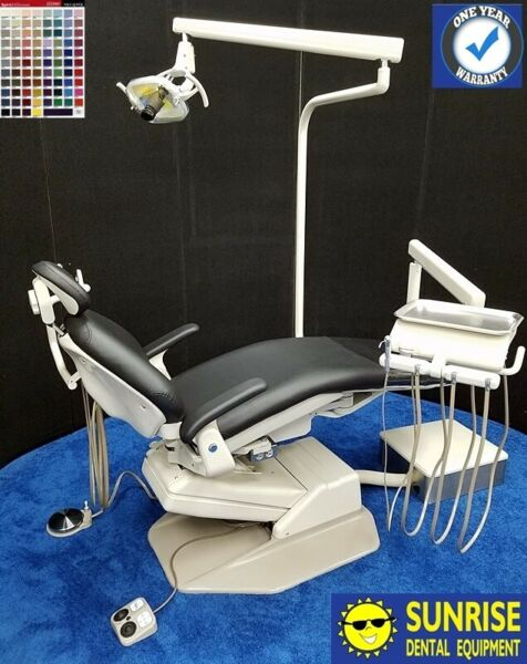 ADEC 1021 Decade Dental Operatory Package Vinyl Upholstery Color of Choice
