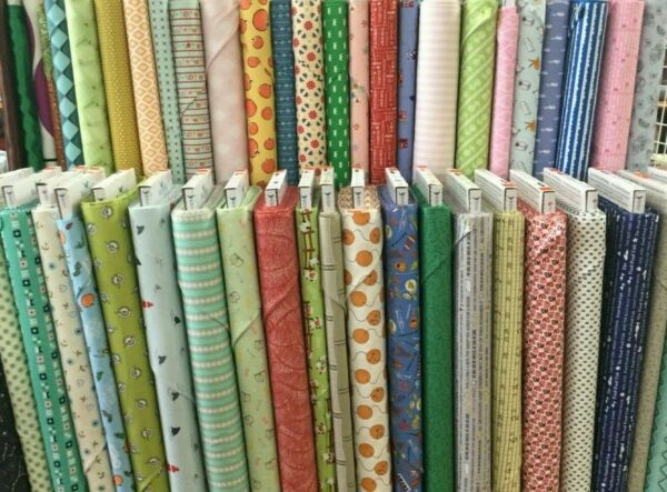 Clearance Fabrics On the Bolt Priced by the Half Yard OR Panel