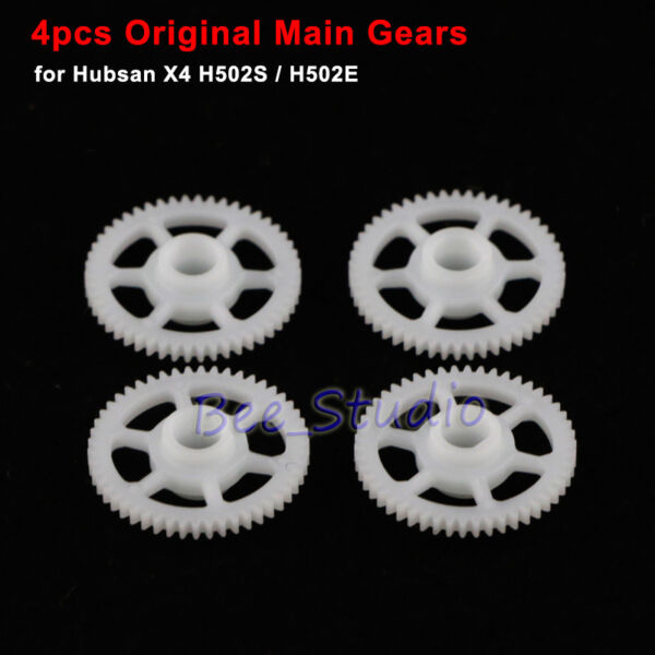 4Pcs Main Gear Wheels for Hubsan X4 H502S H502E RC Quadcopter Drone Spare Part