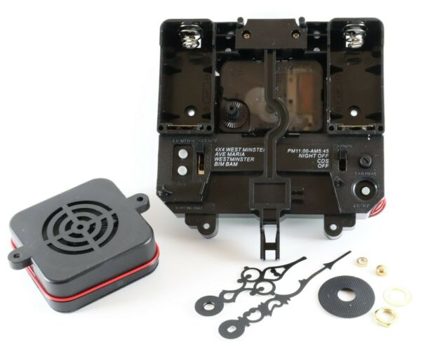 Hermle 2214 2215 Quartz Wall Clock Movement Conversion Kit 12