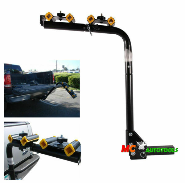 Heavy Duty 4 Bicycle Bike Rack Car Swing Down SUV Truck Van Hitch Mount Carrier $88.99
