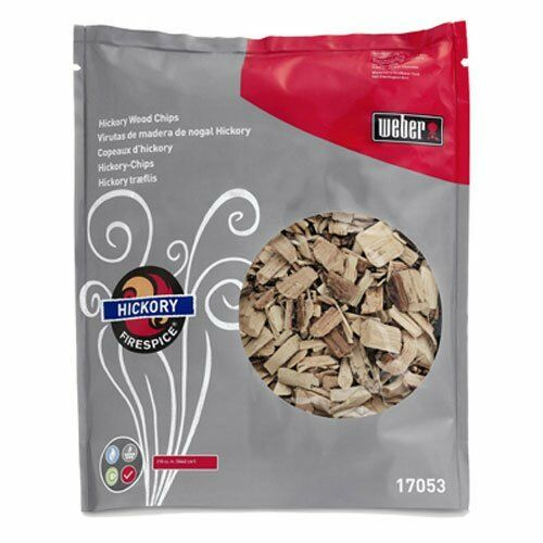 Weber 17053 Hickory Wood Chips 3-Pound