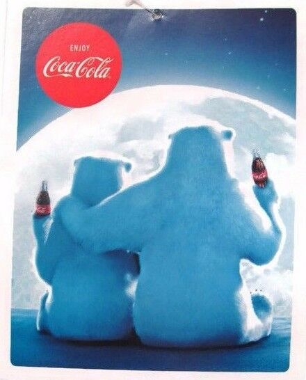 Coca Cola Polar Bear Supersoft Fleece Blanket 55 x 70 Throw BRAND NEW