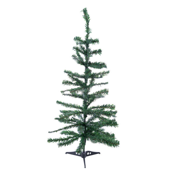 Perfect Holiday 2 3 4ft Artificial PVC Christmas Tree Green White Unlit