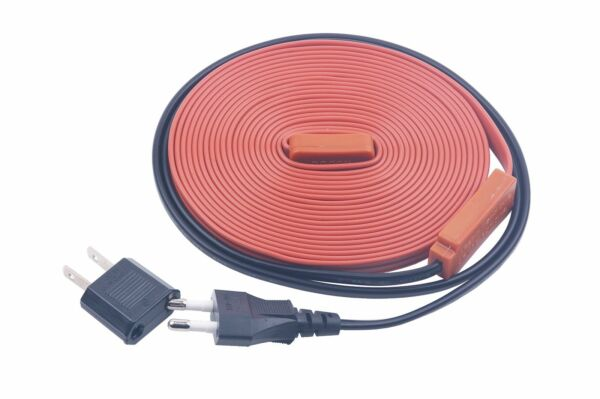 Electric Heating Roof Defrost Snow De-Icing Cable Water Pipe Freeze Proof Tape