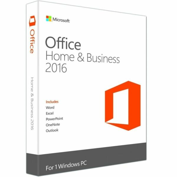 LICENZA Microsoft Office Home & Business 2016 FULL italiano OFFICE 2016 HB BOX