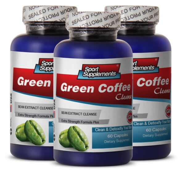 Fat Burner For Women - Green Coffee Cleanse 400mg - Helps With Weight Loss  3B