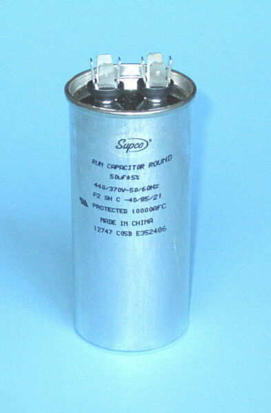 Capacitor HEAVY-DUTY RD50370 Heat Pump Compressor Swimming Pool and Spa Heater