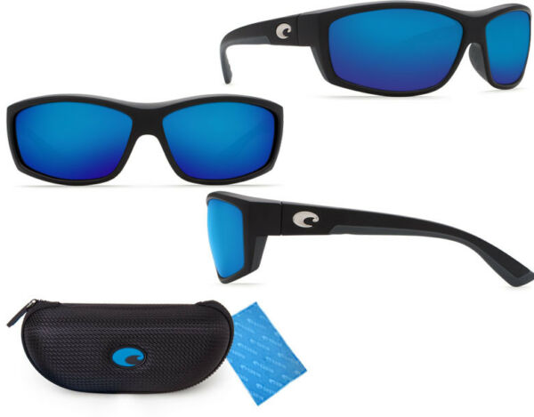 Costa Del Mar BK11OBMGLP Saltbreak Black / 580 Blue Mirror Glass 580G Sunglasses