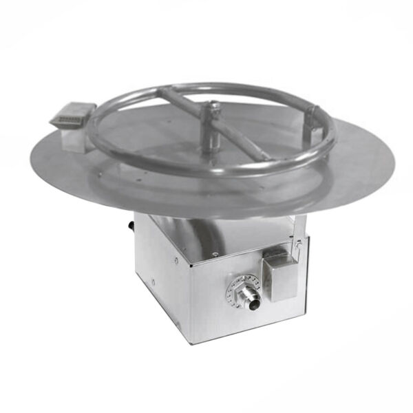 HPC Electronic Ignition Round Fire Pit Kit 14