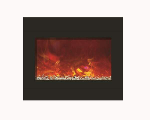 Amantii Zero Clearance Series Built In Electric Fireplace 30quot;