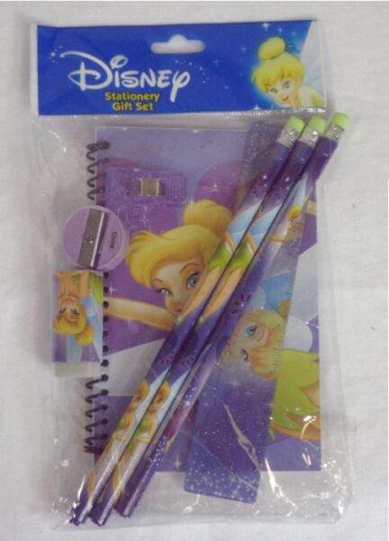 Tinker Bell Back to School Stationery Gift set Pack Lot of 6 $25.99