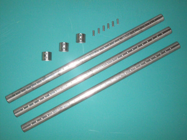 Stainless Secondary Air Tubes for Lopi Liberty Wood Stove & Freedom Bay insert