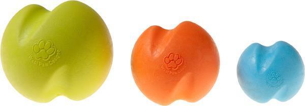 NEW Blue Orange or Green Jive Zogoflex Durable Ball Chew Dog Toy by West Paw