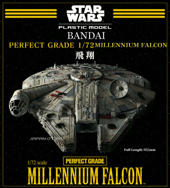 PERFECT GRADE BANDAI 172 STAR WARS MILLENNIUM FALCON PERFECT GRADE Model Kit