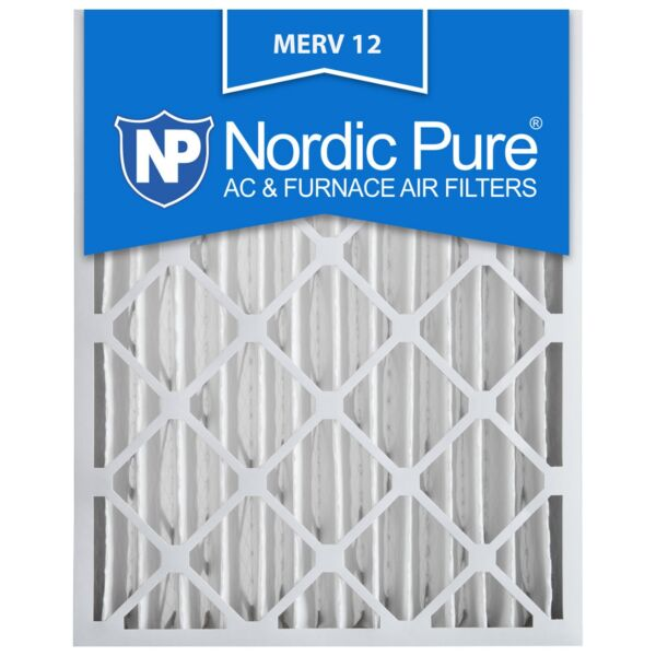 16X25x4 Air Filter Furnace Merv 12 Bulk 11 13 Conditioner Conditioning Pleated $30.48