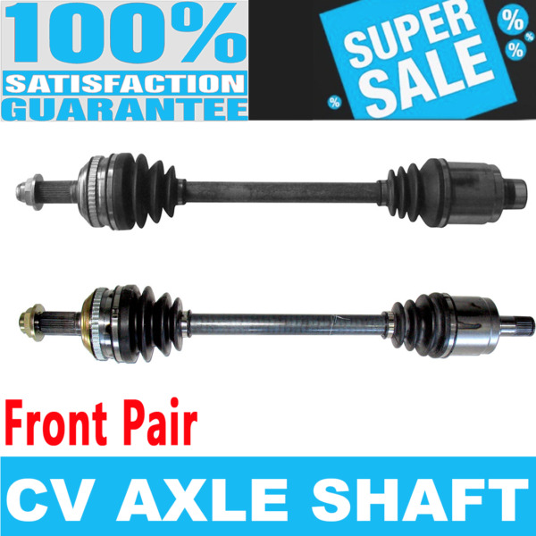 Front 2x CV Joint Axle Shaft for ACURA MDX 03-06
