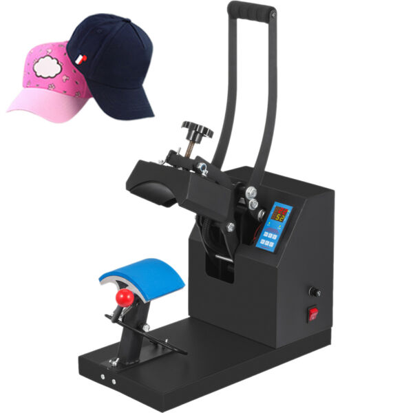 Digital Hat Cap Heat Press Machine Sublimation Transfer Steel Frame 7quot; x 3.5quot; $116.99