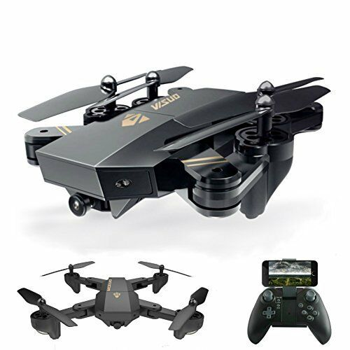 FPV Drone WiFi HD Camera Video RC One Key Return Home & Headless 360° Flip NEW