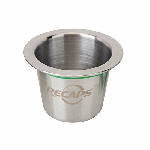 RECAPS--Reusable Nespresso Capsules Stainless Steel Refillable Pods for