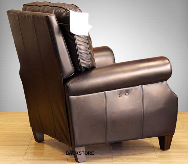 POWER Barcalounger Briarwood II Genuine Stetson Bordeaux Leather Recliner Chair
