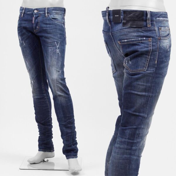 DSQUARED JEANS S71LA0833 SIZE 54 IT 100% Authentic $190.00