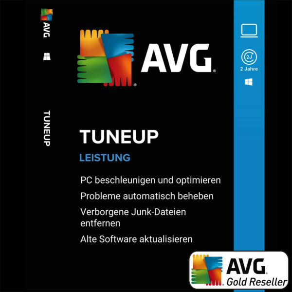 AVG PC TuneUp 2020 1 PC 2Jahre | TuneUp Utilities Vollversion/Upgrade 2019 UE DE