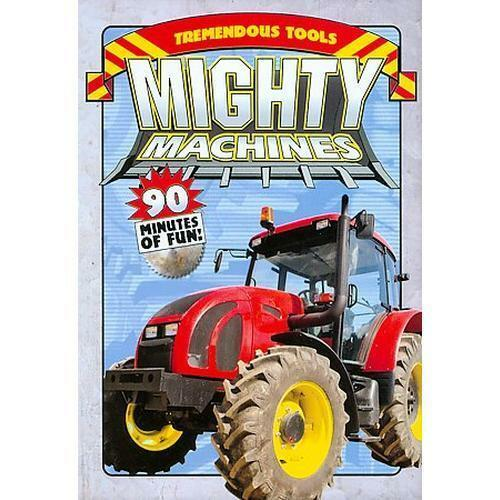 Mighty Machines - Tremendous Tools - New DVD