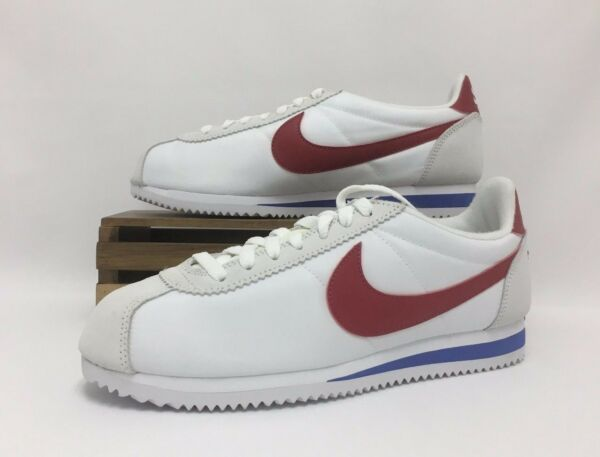 Nike Classic Cortez AW QS Forrest Gump White Red Royal 847709-164 Men's NEW