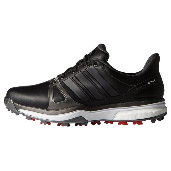 NEW MEN'S ADIDAS ADIPOWER BOOST 2 BLACK GOLF SHOES Q44660Q44664 - PICK A SIZE