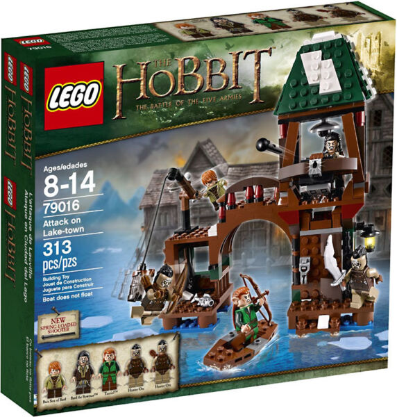 LEGO LOTR The Hobbit - Rare - 79016 Attack on Lake-Town - New & Sealed