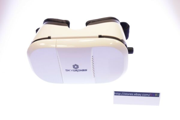 Braha Scout X15 3D Virtual Reality Drone Replacement White VR Goggles