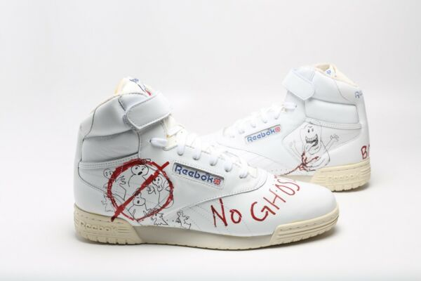 ComplexCon BAIT x Stranger Things 2 Ghostbusters Reebok vintage high top sz 9