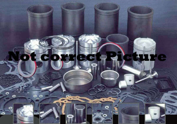 OVERHAUL KIT FOR CUMMINS ISC 24 VALVE wVALVES SPRINGS RETAINERS SEAL