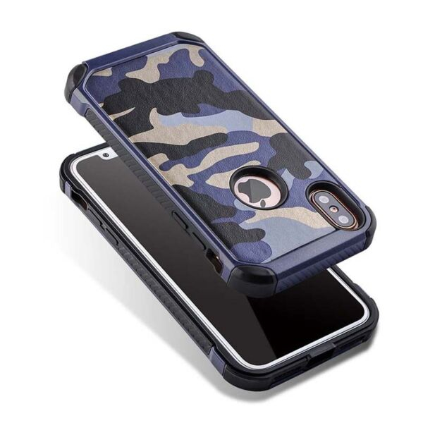 For iphone X XS Case Camouflage Army Military Camo Shockproof Armor Cover $7.99