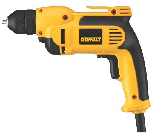 DEWALT 8-Amp 3/8-in Keyless Electric Corded Hammer Drill With Case Power Tools