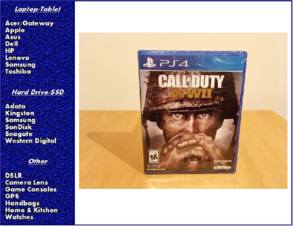 Call of Duty WWII World War 2 PS4 Sony PlayStation 4, New, Sealed