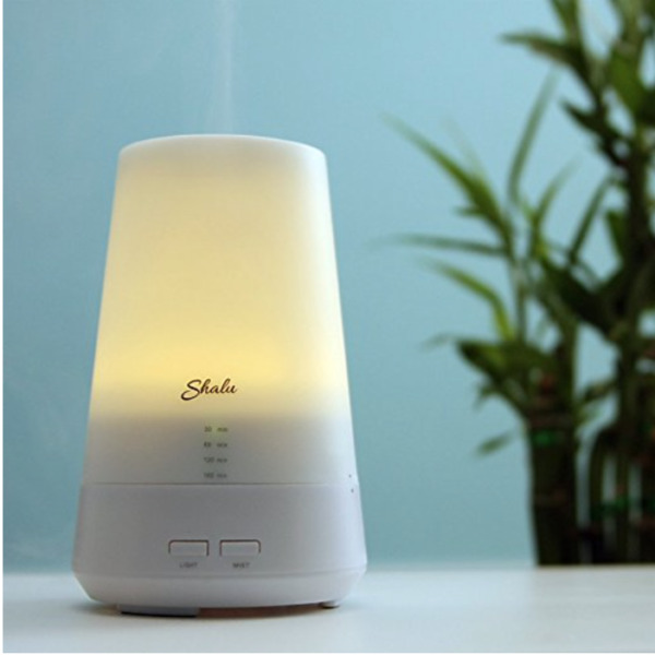 NIB Essential Oil Diffuser Electric for Ultrasonic Aromatherapy w Timer amp; Lights $19.99