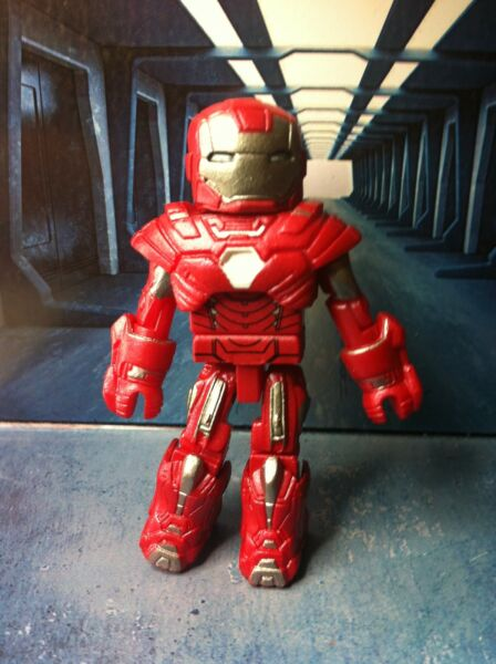 Marvel Minimates IRON MAN 3 SILVER CENTURION ARMOR  Movie Tony Stark Avengers