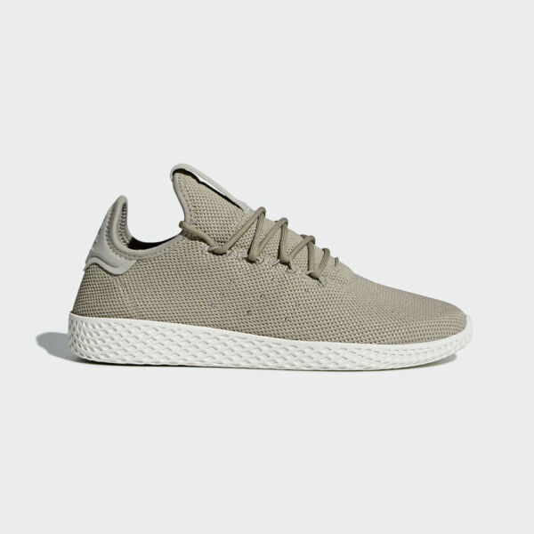 NEW MEN'S ADIDAS ORIGINALS PHARRELL WILLIAMS PW TENNIS HU SHOES [CQ2163]  BEIGE