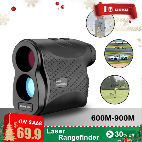 Pro 600M Digital Telescope Laser Range Finder Distance Meter Waterproof