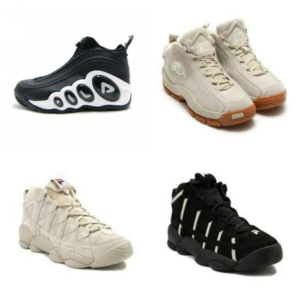 Fila Mens Basketball Heritage Retro Sneakers Basketball Athletic 100% SEE REVIEW