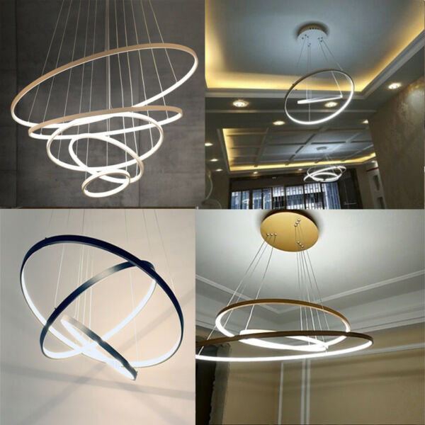 Any-size LED Acrylic Ceiling Light Galaxy Chandelier Living Room Pendant Lamp