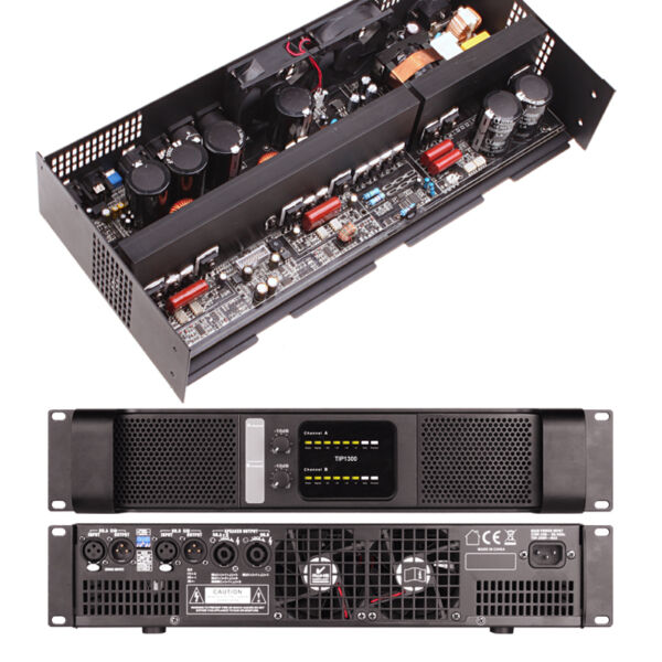 2 Channel 4300W Professional Power Amplifier audio stereo AMP Tulun play TIP1300