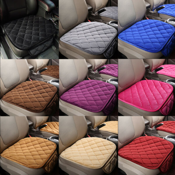 Breathable Universal Car Seat Cover Velvet Bucket Mat Pad for Auto Chair Cushion