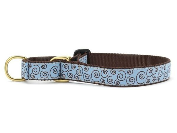 Curly Q Martingale Dog Collar Small 12 17.5 Inches 5 8 In Width $22.00