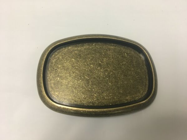 Antique Brass Color Western Style Belt Buckle For 1.5quot; Wide Belts Ships Free $7.49