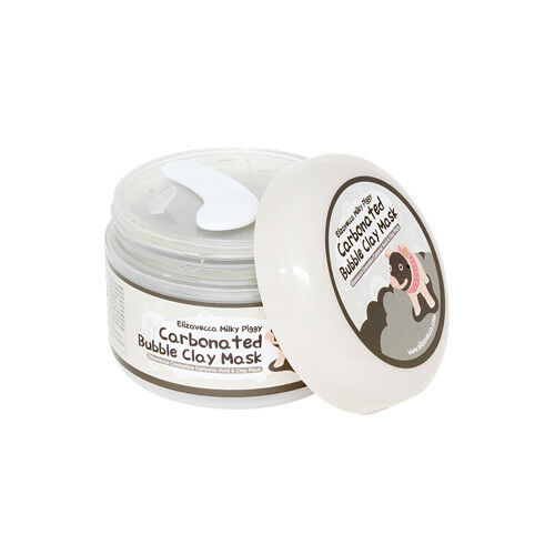 ELIZAVECCA Carbonated Bubbled Clay Mask 100g Free Gift $12.33