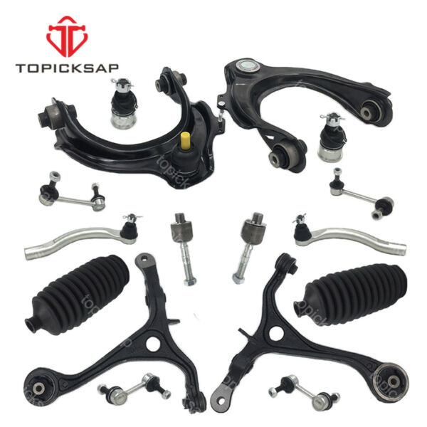 Front Upper lower control arm kit w sway bar for 03-07 Honda Accord  Acura TSX