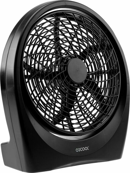 02COOL Treva Fan BatteryElectric Operated Indoor Outdoorw AC Adapter 10